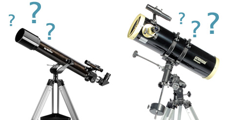 Lunette ou t�lescope, comment choisir ?