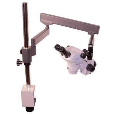 loupe binoculaire perfex zoom pro bras articul et pince de table naturoptic. Black Bedroom Furniture Sets. Home Design Ideas