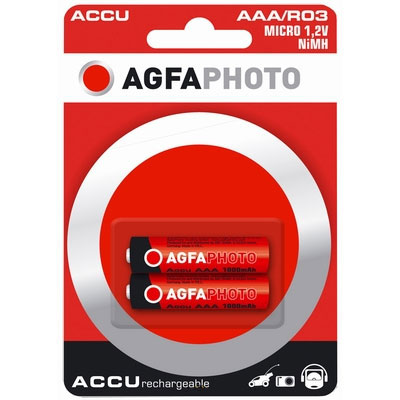 AgfaPhoto Piles Rechargeables AGFAPHOTO AAA