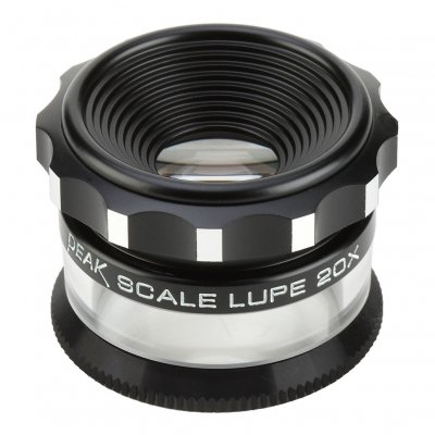 Loupe de Mesure PEAK 20x + Echelle 0,1mm