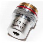 Perfex Sciences Objectif Microscope 4X