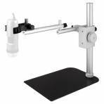 Support métallique DINO-LITE Positions verticales et horizontales
