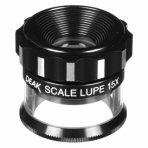 Loupe de Mesure PEAK 15x + Echelle 0,1mm