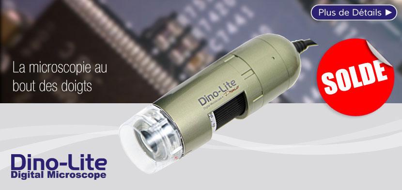 Microscope numérique DINO-LITE PRO2 embouts interchangeables