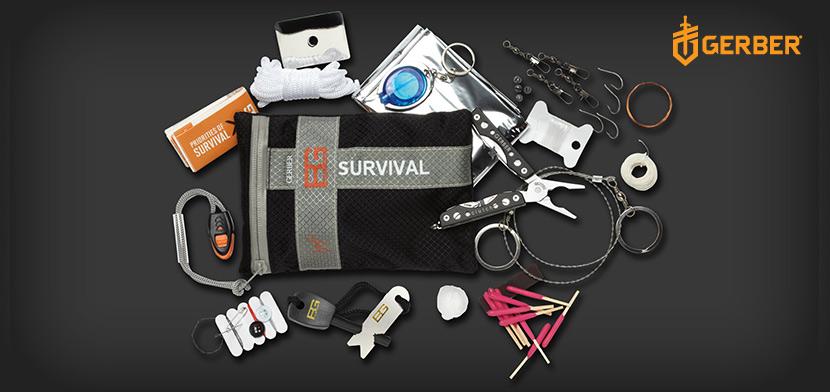 Kit de Survie Complet Bear Grylls GERBER