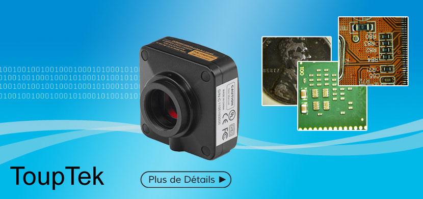 Caméra Numérique Couleur TOUPCAM CMOS 3.2MP