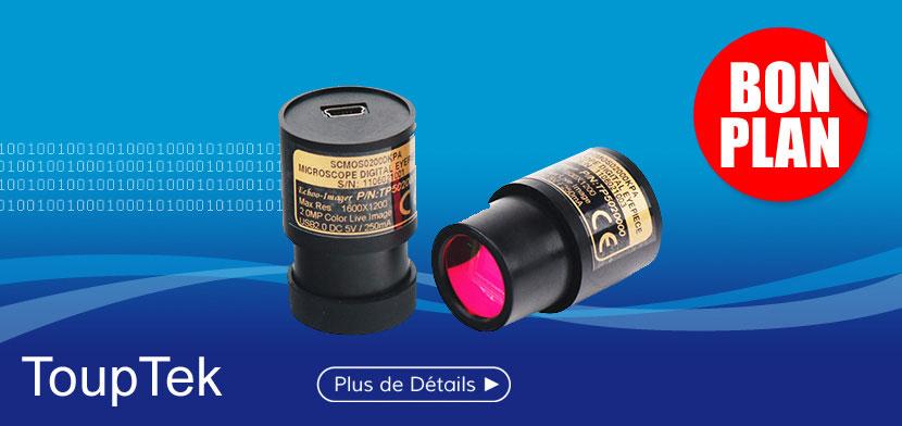 Camera oculaire de Microscopie TOUPCAM 1.3 MP