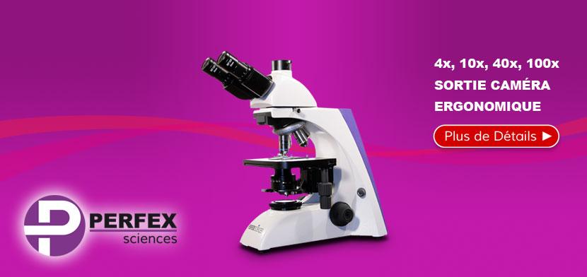 Microscope Trinoculaire de Routine PERFEX 1000x Pro 5.5