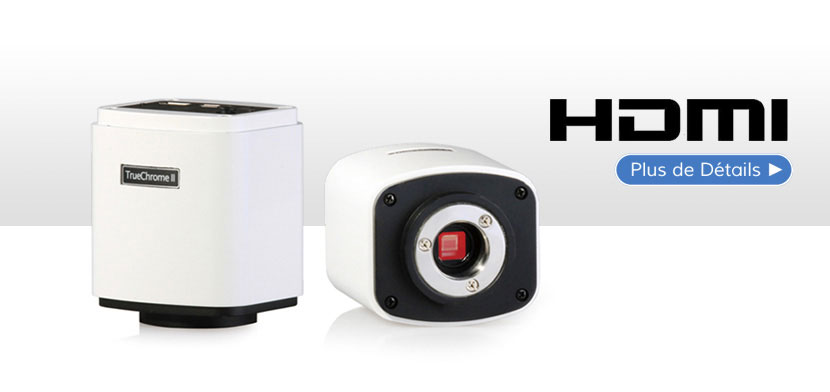 Caméra numérique HDMI TrueChrome IIS 1080p 6MP