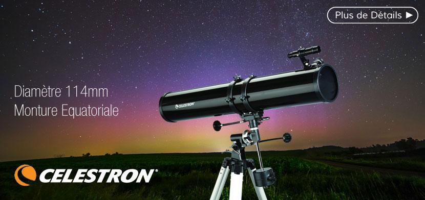Télescope CELESTRON  PowerSeeker 114 EQ