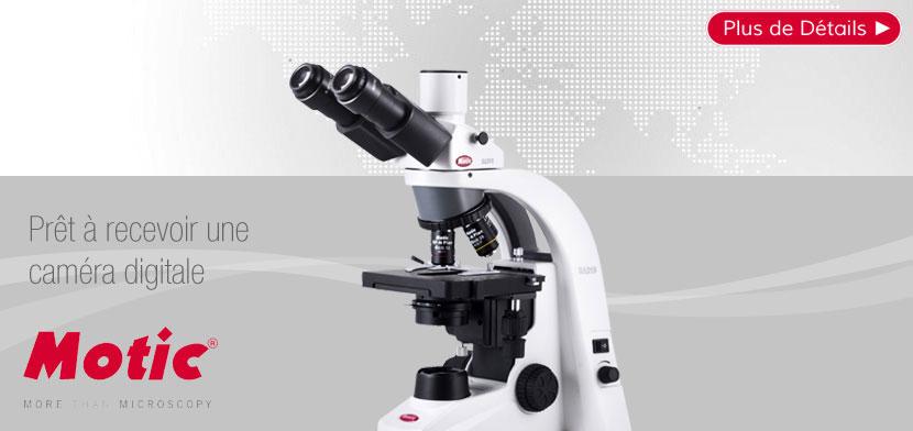Microscope Trinoculaire MOTIC BA210 LED 1000X